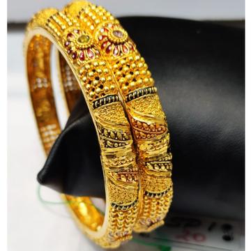 22 carat gold latest ladies bangles RH-LB284