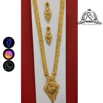 22 carat gold classical ladies long set RH-NS596