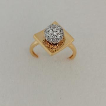 916 gold square design ladies ring by Vinayak Gold