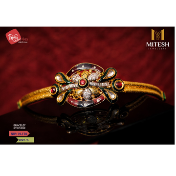 22K LADIES ANTIQUE  BRACELET