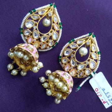 kundan earrings,jewelry,minakari earrings