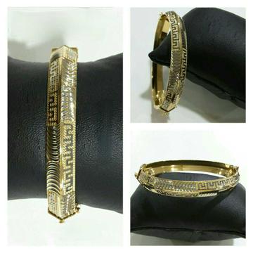 22k Gents Fancy Gold Bracelet G-5156