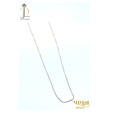 22KT / 916 Gold delicate Small boll chain for Ladies CHG00102