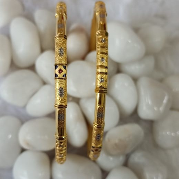 916 Gold Women's Fancy Ghaba Kadali SG59 by