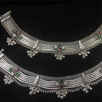 exclusive oxidised ladies payal by Prakash Jewellers