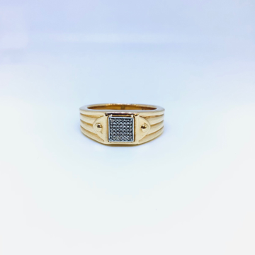 DESIGNING FANCY ROSE GOLD RING by