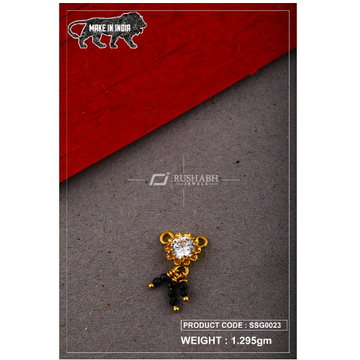 22 Carat 916 Gold Ladies singal stone msp smg0023