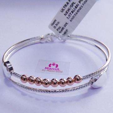 92.5 sterling silver Italian style Kada bracelet ML-88