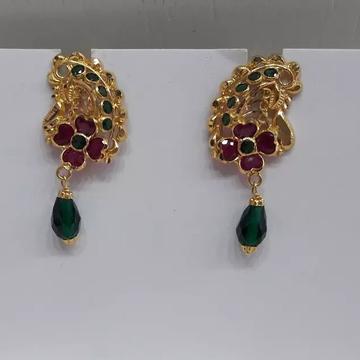 18 ct Gold rajwadi Earrings by
