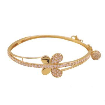 916 gold cz butterfly design bracelet kv-b008