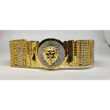 22k Gents Fancy Lion Bracelet G-9601