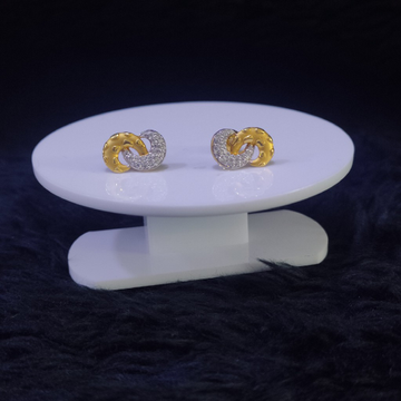 22KT/916 Yellow Gold Liyona Earrings For Women