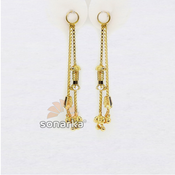 Earring Drops & Charms in Gold SK - E006