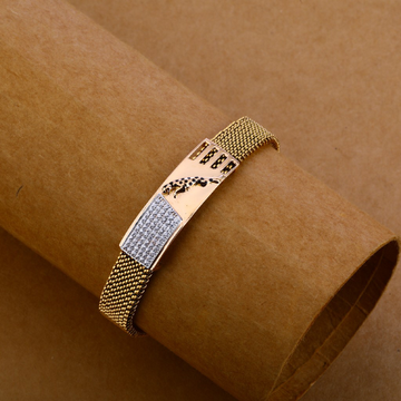 750 Rose Gold yellow Chain Bracelet MLB138