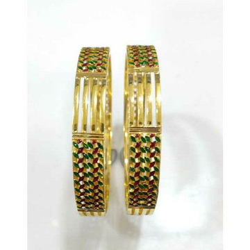 SJ035 Gold Stylish Patla Collection