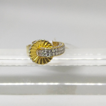 22K designer diamond ring