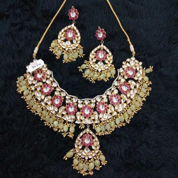 bridal necklace#bdnc237