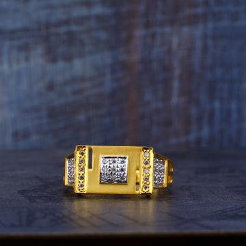 916 Cubic zirconia Gold Ring MR466