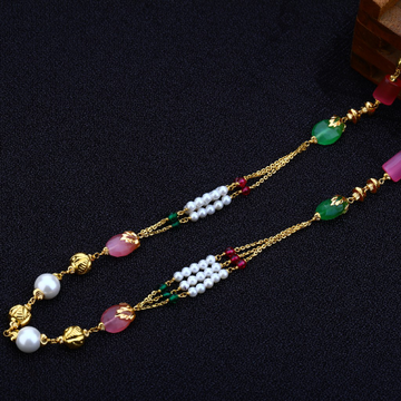 22kt Gold Stylish  Women's Antique Chain Mala AC133