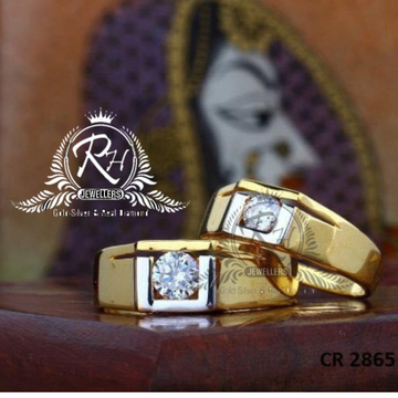 22 carat gold antic couple rings RH-CR812