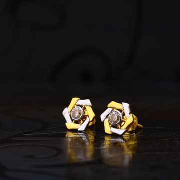 22ct Gold Different Shape Earrings LSE150