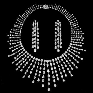 Diamonds Necklace SetJSJ0152