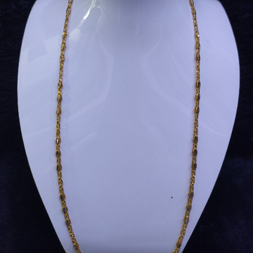 22KT/916 Yellow Gold Modern Zrebi Chain GCH-93
