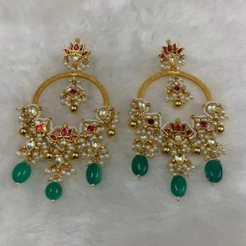 Imitation Heavy Look Earrings by