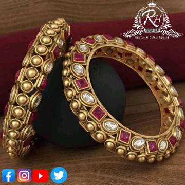 22 carat gold classical ladies bangles RH-LB389