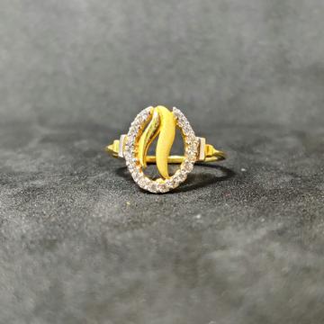 22k Ladies Gold Exclusive Ring-17017