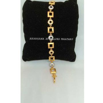 22KT Gold Ladies Indian Diamond Bracelet