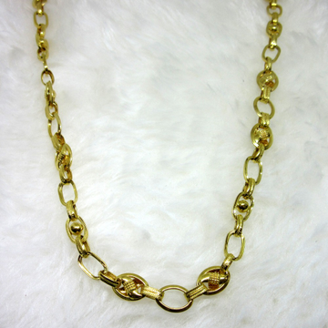 Gold Royal Hollow Chain