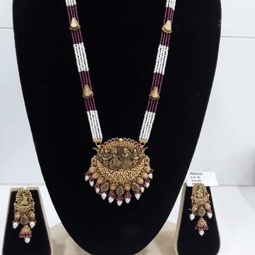 22KT Gold Dulhan Bridal Necklace Set