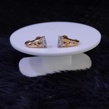 18KT/750 Rose Gold Padmini  Earrings For Women