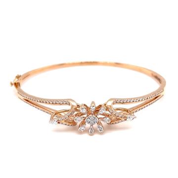 Sorprendente diamond bracelet with flower motif in...