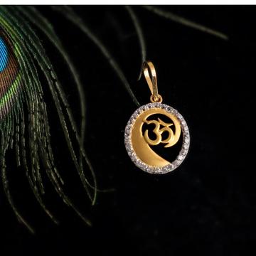 916 god CZ design pendant
