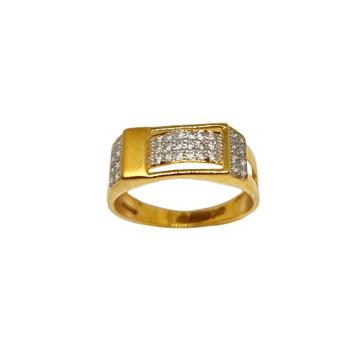 22K Gold Modern Gents Ring MGA - GRG0234