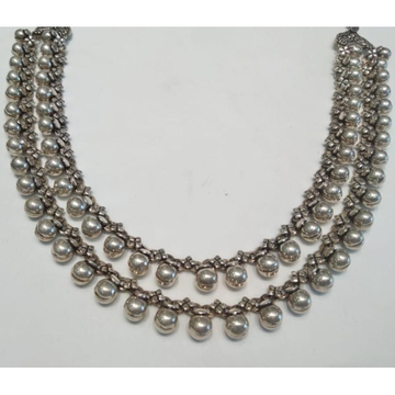 92.5 Sterling Silver Necklace Set  by