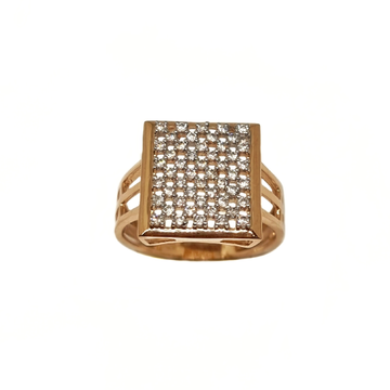 18K Rose Gold Modern Gents Ring MGA - GRG0257