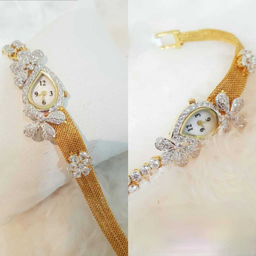 18k Ladies Fancy Exclusive Watch G-2924
