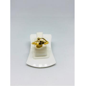 916 Gold Heart Shape Ring For Women KDJ-R013 by