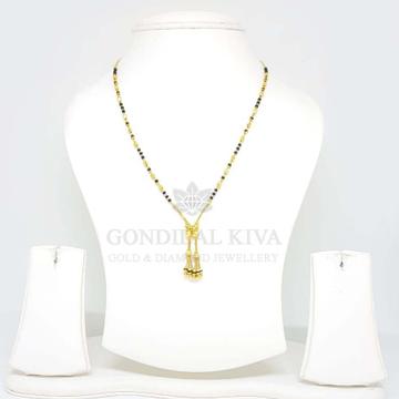 18kt gold mangalsutra gms39