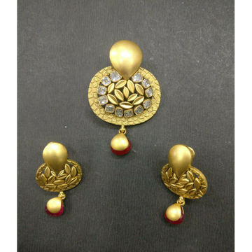 916 gold pendant set