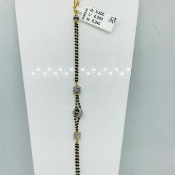 916 CZ Hand Mangalsutra DMPS33