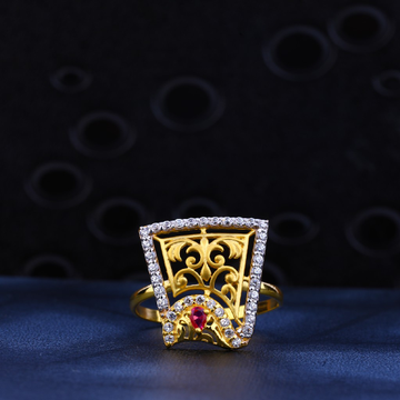 916 Gold Exclusive Designer Ring LR13