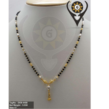 22KT  Gold Classic Mangalsutra  by Parshwa Jewellers
