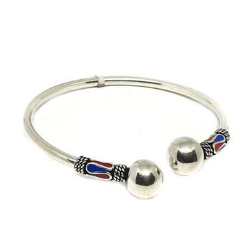 925 Sterling Silver Kada Bracelet MGA - KRS0137
