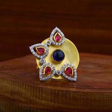 22ct Gold antique diamond Ring LAR40