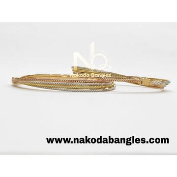 916 Gold CNC Bangles NB - 995
