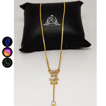22 carat gold ladies fancy pendants chain RH-PC574